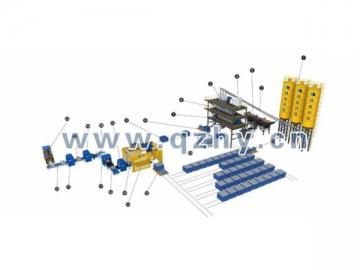 Insulated Foam Concrete Block Production Line