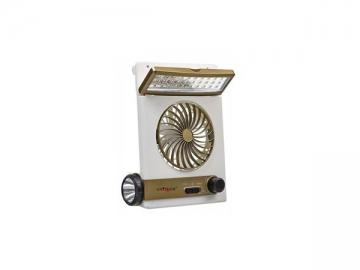 UN2121F Home LED Light Mini Fan