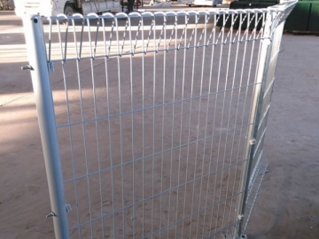 Roll Top Fence