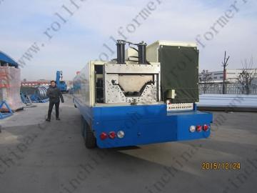 ABM Quick Span / K-Span Roll Forming Machine, CS-1000-630