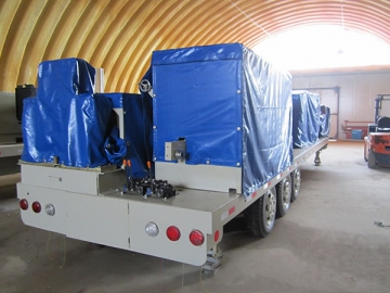 ABM Quick Span / K-Span Roll Forming Machine, CS-1000-680
