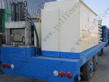 ABM Quick Span / K-Span Roll Forming Machine, CS-1000-550