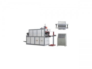 Plastic Cup and Tray Thermoforming Machine
