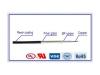 SIF-GLS Fiberglass Braid Silicone Rubber Wire
