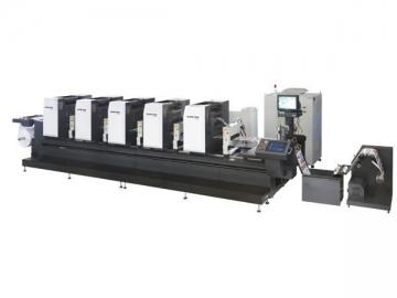 ZTJ-330 PS Plate Intermittent Offset Label Printing Machine