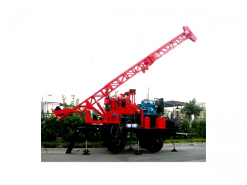 Trailer Mounted Spindle Core Drilling Rig XY-5TR