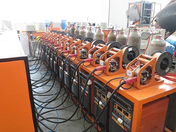 Scaffolding Pole Welding Machine
