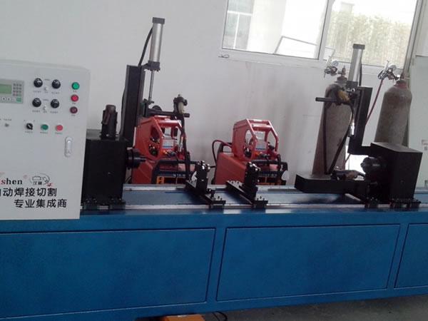 Scaffolding Ledger Welding Machine