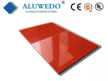 Glossy PE Coating Aluminum Composite Panel, PE Coated ACP Panel