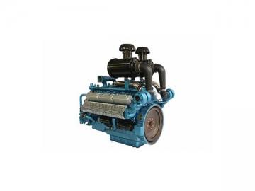 SYG266TAD63 Standy Power 630KW 12-Cylinder Diesel Engine