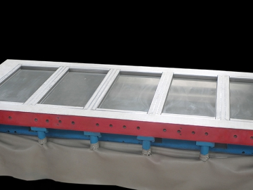 Mold Assembly for Exterior Wall Tiles