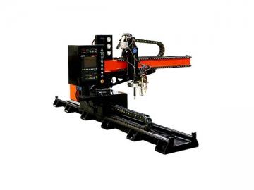 CNC Cantilever Flame / Plasma Cutting Machine