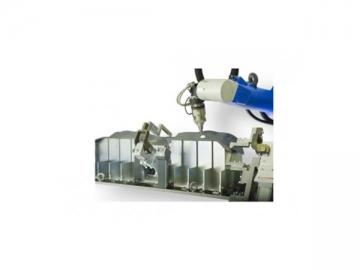 3D Robotic Fiber Laser CNC Cutting Machine
