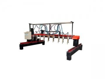 Multi-head Vertical Strip Flame Cutting Machine