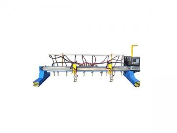 CNC Multi-head Vertical Strip Flame Cutting Machine