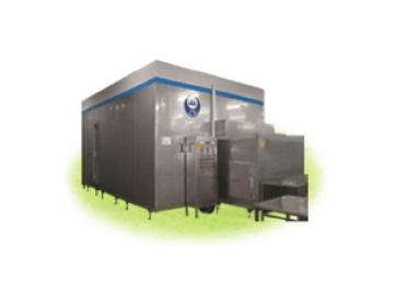 IQF Fluidized Tunnel Freezer