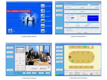 Conference System Management Software