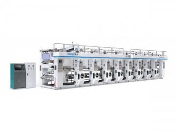 High Speed Rotogravure Printing Machine DNAY800A/1100A, Gravure Printing Press