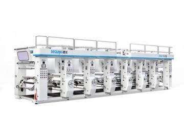 Computer Controlled Rotogravure Printing Machine DNAY800E/1100E, Rotogravure Press
