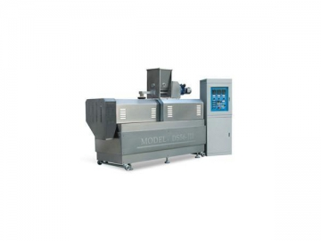Food Process Extruder with Twin Screw