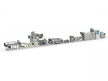 Screw Shell Food Processing Equipment Line