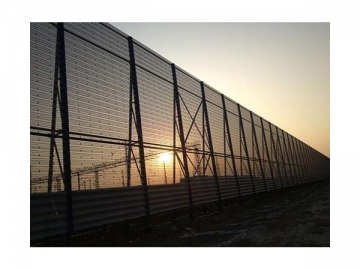 Wind Fence (for Railway)