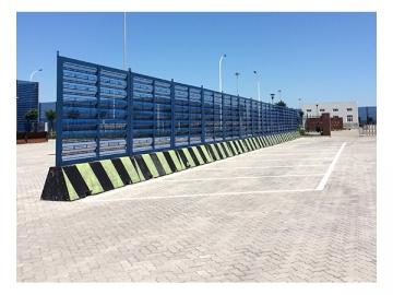 Portable Windbreak Fence