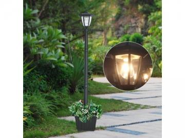 Solar Powered Lighting Cast Aluminum Post Mount Light, ST6221HP-A LED Light