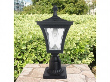 Outdoor LED Light Fixture with Cast Aluminum Post Mount, ST4212AQ LED Light