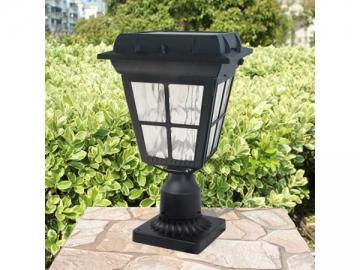 17 Inch Pier Mount Solar Powered LED Light, ST4310Q LED Light