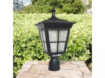 Cast Aluminum Post Mount Outdoor Solar LED Light, ST4311AQ-A LED Light