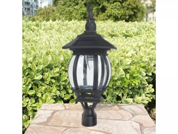 Cast Aluminum Pier Mount Solar LED Light, ST6220Q-A LED Light