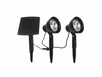 2 Lamp Solar LED Spotlight, KSP0102SP LED Light