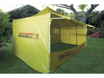Aluminum Alloy and Iron Frame Awning Tent