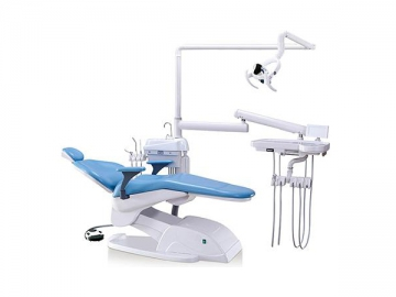 A800 Dental Chair Unit  (electric dental chair, handpiece, DC motor, LED light)