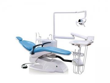 A1000 Dental Chair Unit  (integrated dental chair, handpiece, LED light)