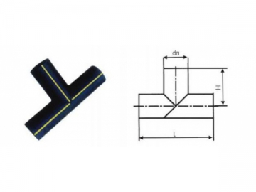 Butt Welding Fittings, HDPE Gas Pipe Fittings