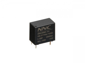 NNC69D Miniature Electromagnetic Relay