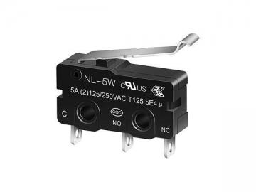 NL-5W/10W R-Shape Miniature Micro switch