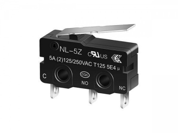 NL-5Z/10Z Miniature Micro switch