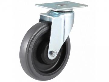 60~100kg Noise Reducing Polyurethane Wheel Swivel Caster
