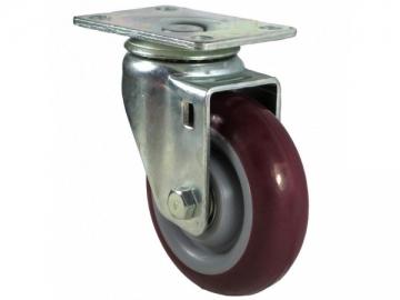 50~140kg Polyurethane Wheel Swivel Caster