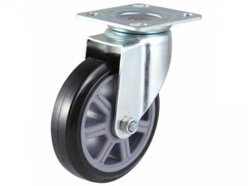 200~350kg Heavy Duty Polyurethane Wheel Swivel Caster