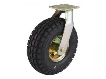 125-136kg Pneumatic Rubber Wheel Caster