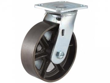 290~430kg Cast Iron Wheel Caster