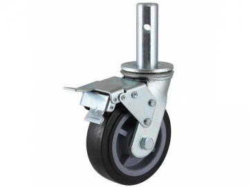 410~420 Polyurethane Scaffolding Wheel Caster