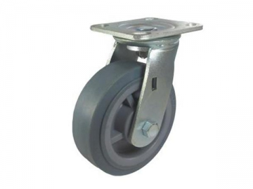 160-310kg Synthetic Rubber Wheel Caster