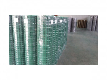 Plastic Coated Welded Wire Fencing