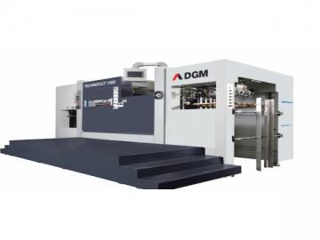 Die Cutting Machine 1050 type Flatbed Die Cutter, Automatic Die Cutting Equipment