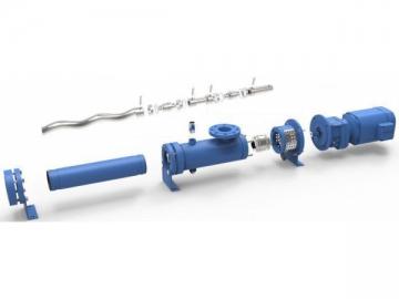M3 Open Hopper Progressive Cavity Pump